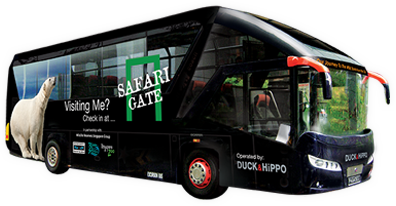 「safari gate bus」の画像検索結果